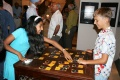 Kids are playing the BINDU-Memory game