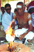 a leprosy effected priest