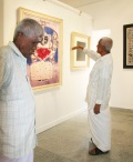 Eswaran and Munuswami in the Gallery