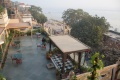 Roof terrace of Hotel Ganges View