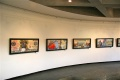 """Honeymoney"" collages mounted at the Triveni Garden Theater"