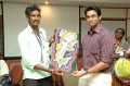 Kumar presents his painting