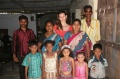 Uday Kumar with Dagmar and his daughter, son in law and his grandchildren