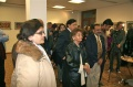 Guests during the inauguration of the Bindu show in the Austrian Embassy