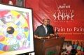 Ankush Sharma, General Manager Courtyard Marriott opens the auction