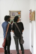 Amala & Ravi Sankar talking about the paintings