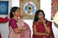 Princess of Travancore Gauri Parvathi Bayi and Padma Venkataraman watching the Bindu-Film.jpg