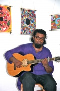 guitar men with tamil songs for the Bindu-studetns