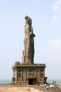 Memorial Statue of the Tamil Poet Thiruvalluvar