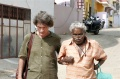 Werner Dornik and Ravichandran walking through Kanyakumari