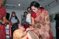 Padma welcomes a disabled painter