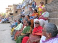 Sitting at the Assi Ghat