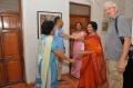 Padma Venkataraman welcomes her friends