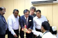 Dr. Atul Shah light the lamp