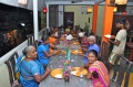 Rajalakshmi Guesthouse made a delisious dinner for our students